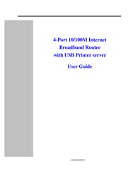Canyon CN-BR1 Broadband Router CN-BR1 User Manual