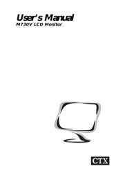 CTX M730V User Manual