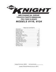 KUHN RIKON Kuhn Rikon Corp. Automobile Parts 8118 User Manual
