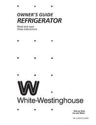 White Westinghouse 218954301 User Manual