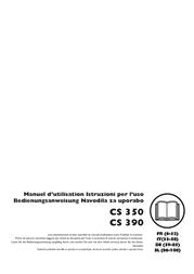 McCulloch CS 390+ Data Sheet