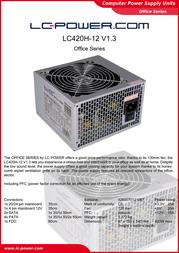 LC-Power LC420H-12 V1.3 Leaflet