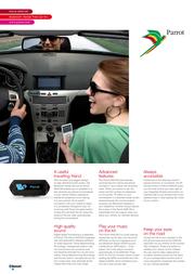 Parrot MK6100 Leaflet