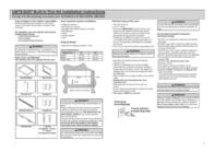 Amana UMTK30 Leaflet