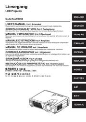 Liesegang Technology Projector 292 User Manual