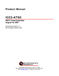 Contemporary Research ICC2-ATSC User Manual