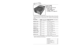 Transition Networks SBFTF1011-140 Stand-Alone Media Converter SBFTF1011-140 ユーザーズマニュアル