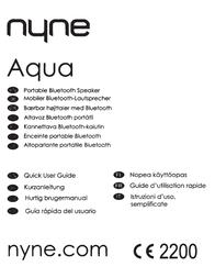 NYNE AQUAGRY Owner's Manual