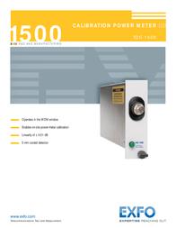 EXFO Photonic Solutions Div. IQS-1500 Manual De Usuario