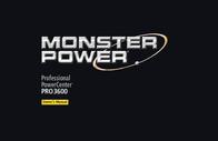 Monster Power MPP 3600 HC Surge Protectors 109199-00 User Manual