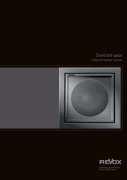 Revox Integrated Speaker Systems User Manual