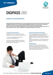 Vasco Digipass PRO 260 5414602051004 Leaflet