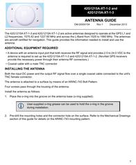 Novatel 42G1215A-XT-1-3 User Manual