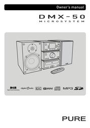 Pure Acoustics DMX-50 User Manual
