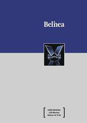 "Belinea 15"" TFT Monitor User Manual"
