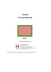VAX 20RTC User Manual