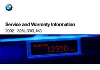 BMW 325i Sedan Warranty Information
