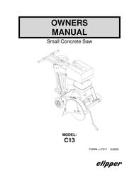 Wahl C13 User Manual