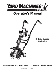 Yard Machines 769-02636 User Manual