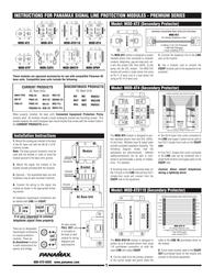 Panamax MOD-SPKP Owner's Manual