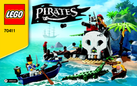 Lego Pirates LEGO® PIRATES 70411 PIRATEN-SCHATZINSEL 70411 Data Sheet