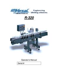 Universal R-320 User Manual
