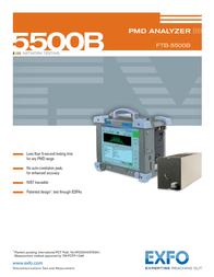 EXFO Photonic Solutions Div. PMD Analyzer 5500B Manual De Usuario