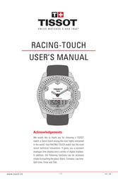 Tissot 151_EN User Manual