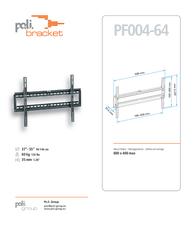 Poli Bracket W042 Leaflet