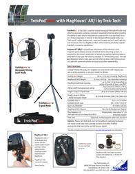 Trek-Tech TrekPod Go! TREK00107 Leaflet