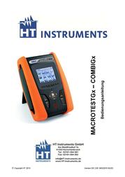 Ht Instruments COMBI G2VDE-tester 1009990 Data Sheet