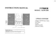 Fisher Car Stereo System SLIM-1500 User Manual