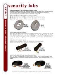 Security Labs SLA42 Leaflet