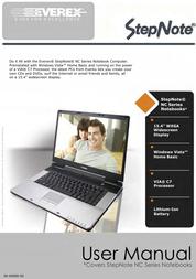 Everex Stepnote NC User Manual