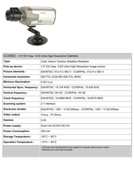 COP-USA cc35ed Specification Guide