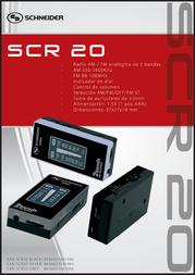 Schneider SCR20 SCR20 GREY Leaflet