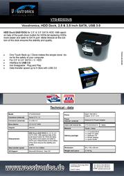 Vosstronics VTG-ED323US Leaflet