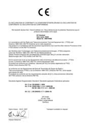 B-Speech Isas Bluetooth Headset FRUNBLUEISAS Leaflet