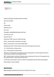 EasyTouch ET-373 Leaflet