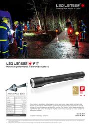 Led Lenser 8417 Leaflet