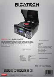 Ricatech RMC100 658002 Leaflet
