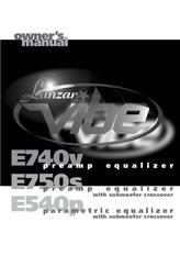 Lanzar E540P User Manual