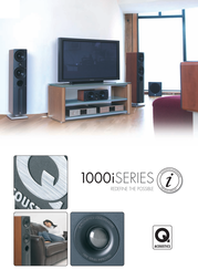 Q Acoustics 1000ST Speaker Stand 1000ST User Manual