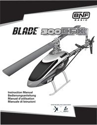 Blade 300 CFX BNF BLH4650 Data Sheet
