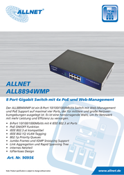 ALLNET ALL8894WMP Data Sheet