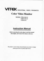 Vitek vtm-14-c-h User Guide