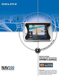 Delphi NAV200 User Guide
