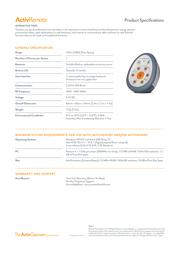Promethean ActivRemote AR10 Leaflet
