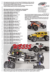 Fg Modellsport 1:6 RC model car Petrol Monster G33010R User Manual