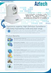 Aztech WIPC409HD Product Datasheet